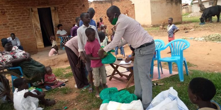 COVID-19 UPDATE: Food donation to vulnerable children.